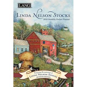 [LANG] 2018 포켓 다이어리 -  Linda Nelson Stocks